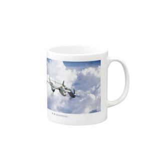 P-38 Lightning  Mugs