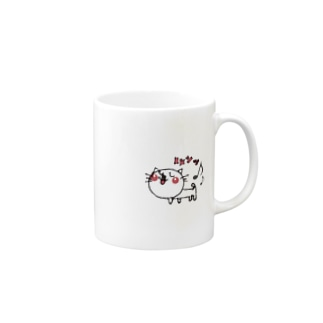 matsukingのルンっルンっネコちゃん Mugs
