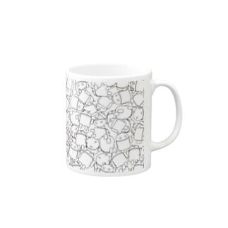 ドロイドくん盛り Mugs