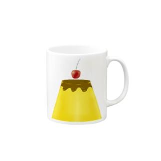 🌈✨大志を抱く✨ビック🍮プリン Mugs