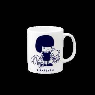 チョッちゃんのRAFIKIマグカップ