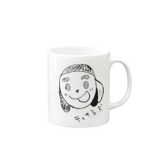 ティサ子犬, あかりデザイン Mugs