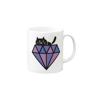 黒猫ちゃん Mugs