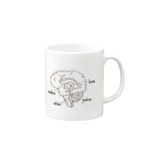脳 Mugs