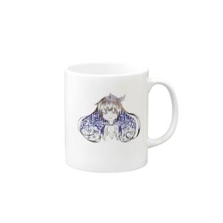 乙女の微笑 Mugs