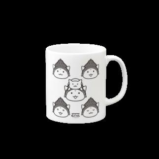 PygmyCat suzuri店の仏にゃんs Mugs