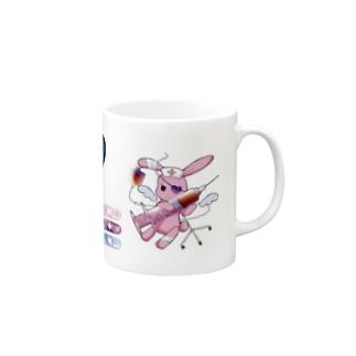 うさくま病棟マグカップ Mugs