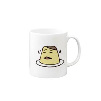 いやいやぷりん Mugs