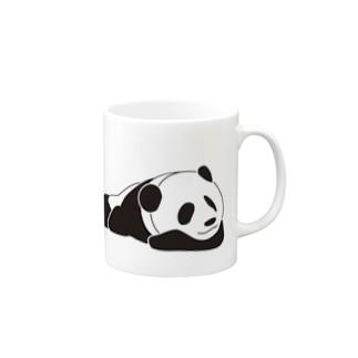ジャパニーズスタンダードのおやすみパンダ Mugs