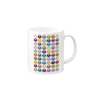 ゲームキャラクター60 Mugs