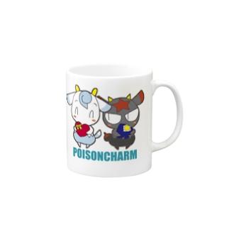 POISONCHARM電脳露店2号のアオヤギさんとミヤギちゃん Mugs