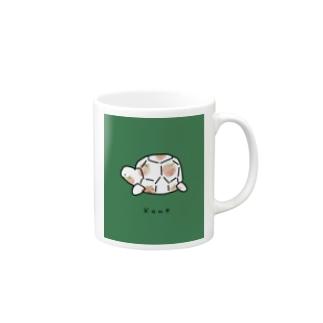 カメイチゴ柄 Mugs