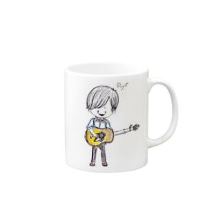 サスケTグッズ Mugs