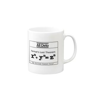 All Delo - 最終定理 Mugs