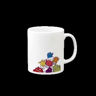 shobaba88のRAINBOW BUGDRIDSマグカップ