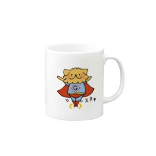 スーパーワン Mugs