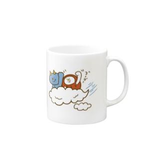 盆ちゃんとポッピ、お空をドライブするの巻 Mugs
