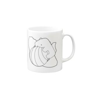 飴玉と恐竜 Mugs