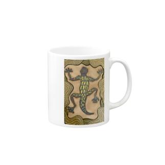 爬虫類 Mugs