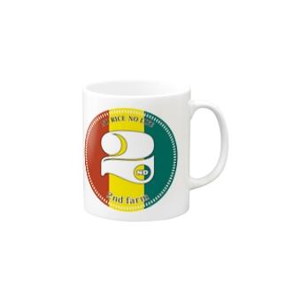 ラスタロゴ Mugs