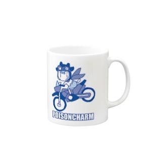 ライダーアオヤギさん Mug