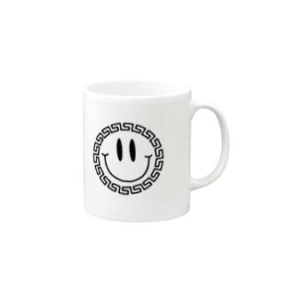 中華ニコニコ Mugs