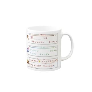 紅茶の違いがわかるマグカップ Mugs