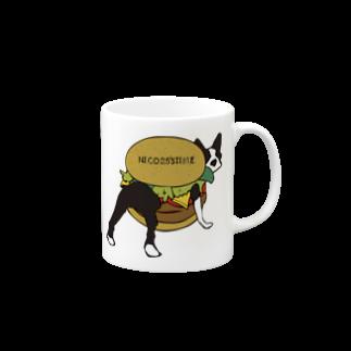NICO25'S TIMEのボステリバーガーマグカップ
