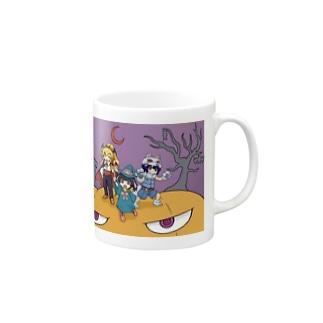 【アクシズ】ハッピーハロウィン! Mugs