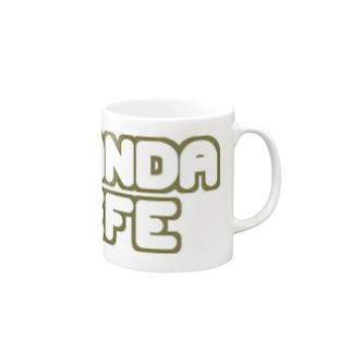 NO PANDA NO LIFE (KHAKI) Mugs