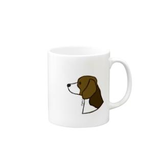 ビーグル Mugs