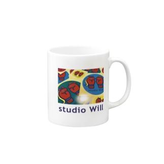 studio Will×INGRID マグカップ_D Mugs