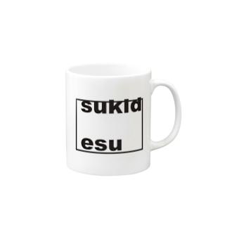 kokuhakuあふれたことば Mugs