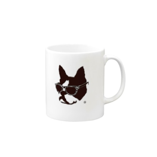 A Dog In Vacation Mugs