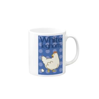 かきんまぐ(白色れぐほん) Mugs