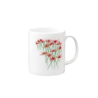 赤い彼岸花 Mugs