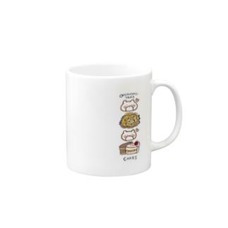 Okonomi-Cakes / Mog Mog Nishimoo Mugs