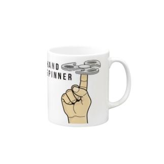 HAND SPINNER-ハンドスピナー- Mugs