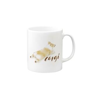 corgi Mugs