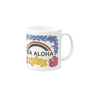 MEA ALOHA・メアアロハ Mugs