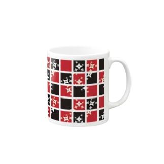 手裏剣カップ Mugs