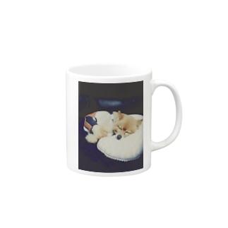 ポメラニアンのポメ Mug