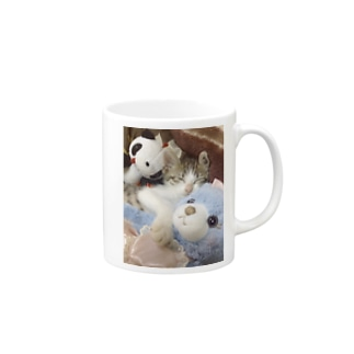 ganmo子猫 Mugs