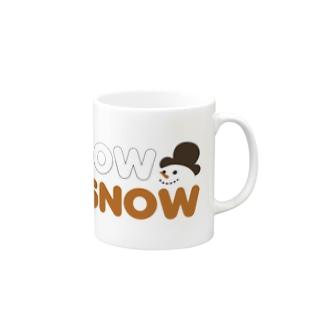 スノースノー Mugs