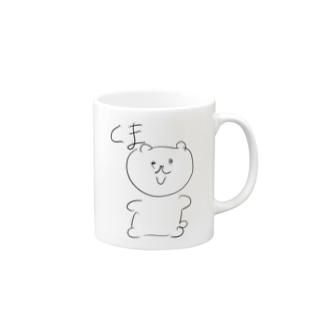 くまちゃん Mugs