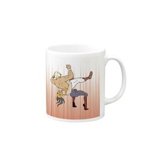 ジャーマンスープレックス Mugs