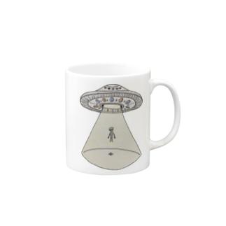 UFOから宇宙人 Mugs