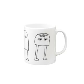 Wメジェド神 Mugs