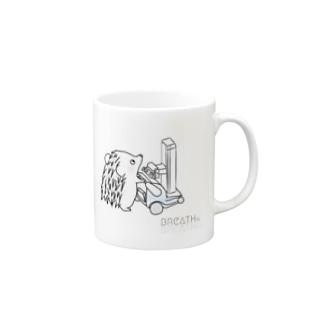 はりねずみ君@ぽーたぶるのマグカップ  Mugs