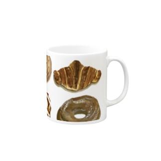 クロワッサンマグカップ2 Mugs